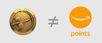 Amazonコインはポイントでは無い
